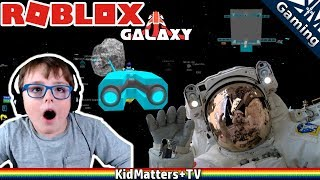Roblox:Galaxy: Asteroid Mining, How To, Spaceship Building, Pirating and more [KM+Gaming S02E30]