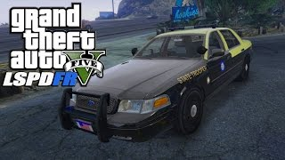 GTA:V LSPD:FR FHP CVPI | ARMED SUSPECTS FLEEING!! // EP.32