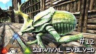 ARK: Survival Evolved - DUNG BEETLE & DIMETRODON TAMING !!! - SEASON 3 [S3 E12] (Gameplay)