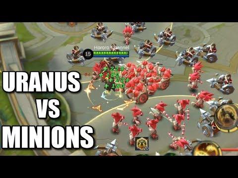 URANUS VS MINIONS HOW MANY MINIONS CAN HE HOLD?