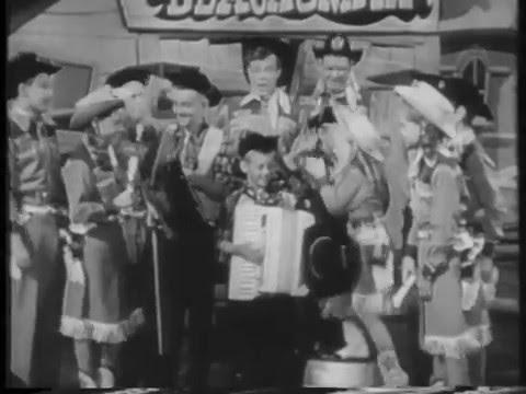Mickey Mouse Club 1955 Barxrangers Talent Roundup Winners