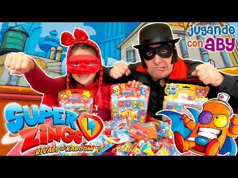El Reto de los SuperZings con Super Aby y el Villano Black Edu.