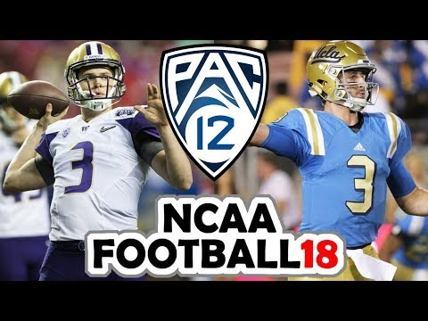 PAC-12 Championship PRESEASON Simulation {NCAA Football 18} UCLA vs Washington
