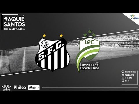 Santos estreia na Copa do Brasil contra Luverdense nesta quinta!