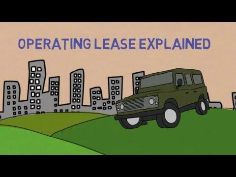 Operating Lease explained