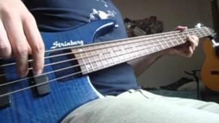 BLACK SABBATH - Iron Man (bass guitar cover)