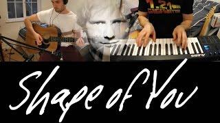 Shape of You - Ed Sheeran | Guitar Karaoke / Backing Track Cover
