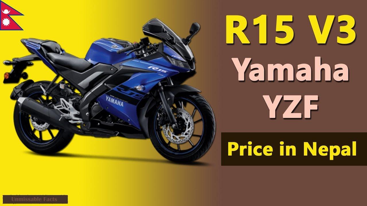 Yamaha R15 V3 Price In Nepal Yzf R15 V3 Specs Price In Nepal