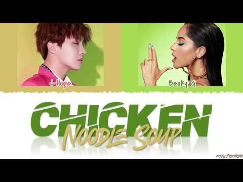 J-HOPE - 'CHICKEN NOODLE SOUP' Feat BECKY G Lyrics [Color Coded_Han_Rom_Español_Eng]