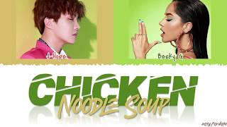 Download lagu J-HOPE - 'CHICKEN NOODLE SOUP' feat BECKY G Lyrics [Color Coded_Han_Rom_Español_Eng]