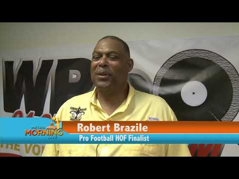 ROBERT BRAZILE PRO FOOTBALL HALL OF FAME BALLOT