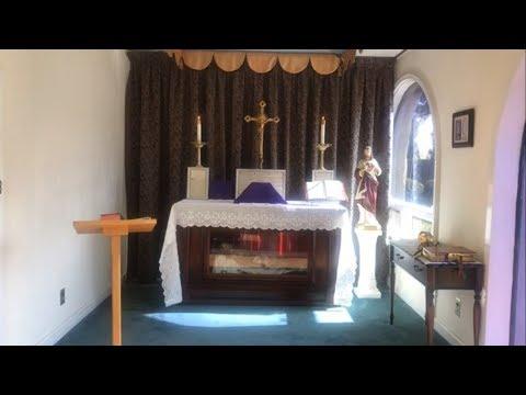 TRADITIONAL LATIN MASS from Mater Ecclesiae Chapel - Fri, Mar. 27, 2020