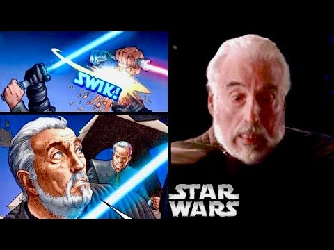 The Real Reason Dooku Was HORRIFIED When Anakin Cut Off His Hands (Legends)