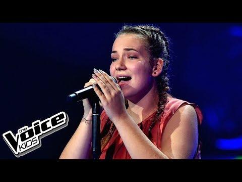"""Karolina Wójtowicz – """"Young and Beautiful"""" – Przesłuchania w ciemno – The Voice Kids Poland"""