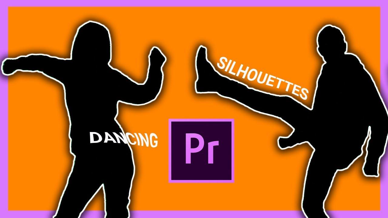 Turn Yourself Into A Silhouette Green Screen Adobe Premiere Pro