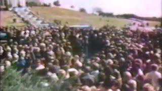 Jack Benny's Funeral at Hillside Memorial Park