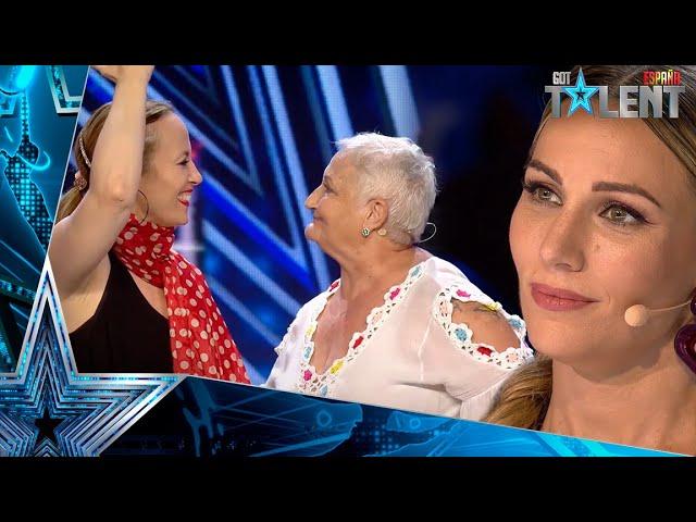 Esta mujer se derrumba tras su intensa actuación con su hija   Audiciones 6   Got Talent España 2021
