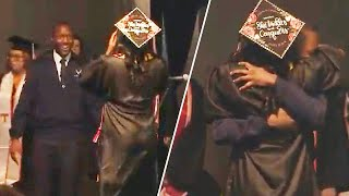 Military Airman Surprises Sister at Tennessee Graduation