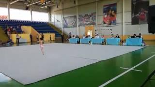 Руина Кристина 3 юношеский разряд художественная гимнастика