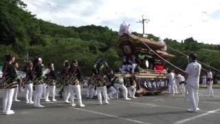2015年7月19日だんじり試験曳き 大道6