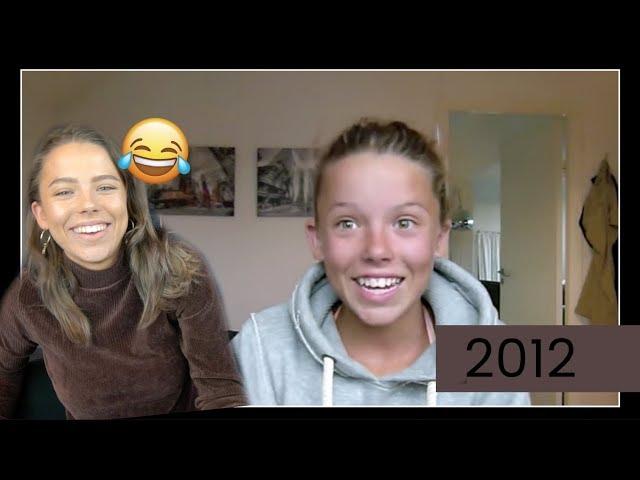 REAGERAR PÅ MINA FÖRSTA VIDEOS | 2012-2014