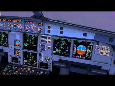 Connected Flightdeck A320 | URRR Training flight | IMC CAT II | Vatsim