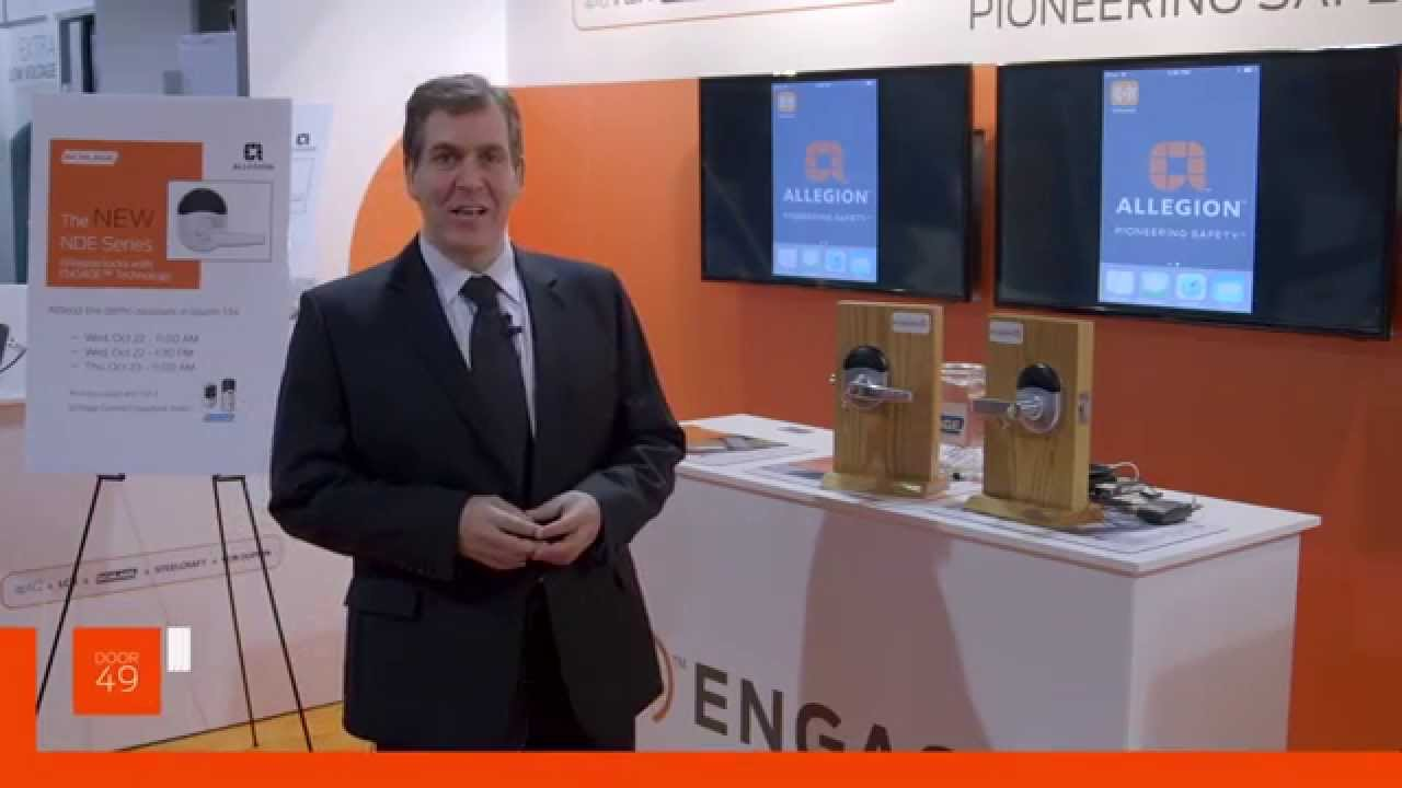 Allegion Canada Introducing The Schlage Nde With Engage At