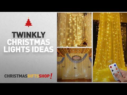 Twinkly Christmas Lights Ideas: Christmas Window Lights