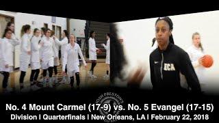 (5) Evangel 41, (4) Mount Carmel 37 - Tiara Young drops 26 in Division I Quarterfinals