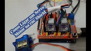 Como ligar um servo motor na cnc shield