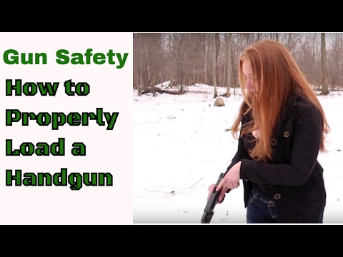 Gun Safety | How To Properly Load A Handgun