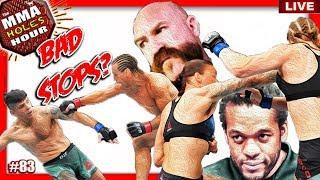 🔴UFC SACRAMENTO HAD TWO BAD STOPPAGES? + UFC SAN ANTONIO FIGHT WEEK + MMA NEWS