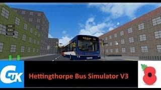 ROBLOX Hettingthorpe Bus Simulator V3 route 350
