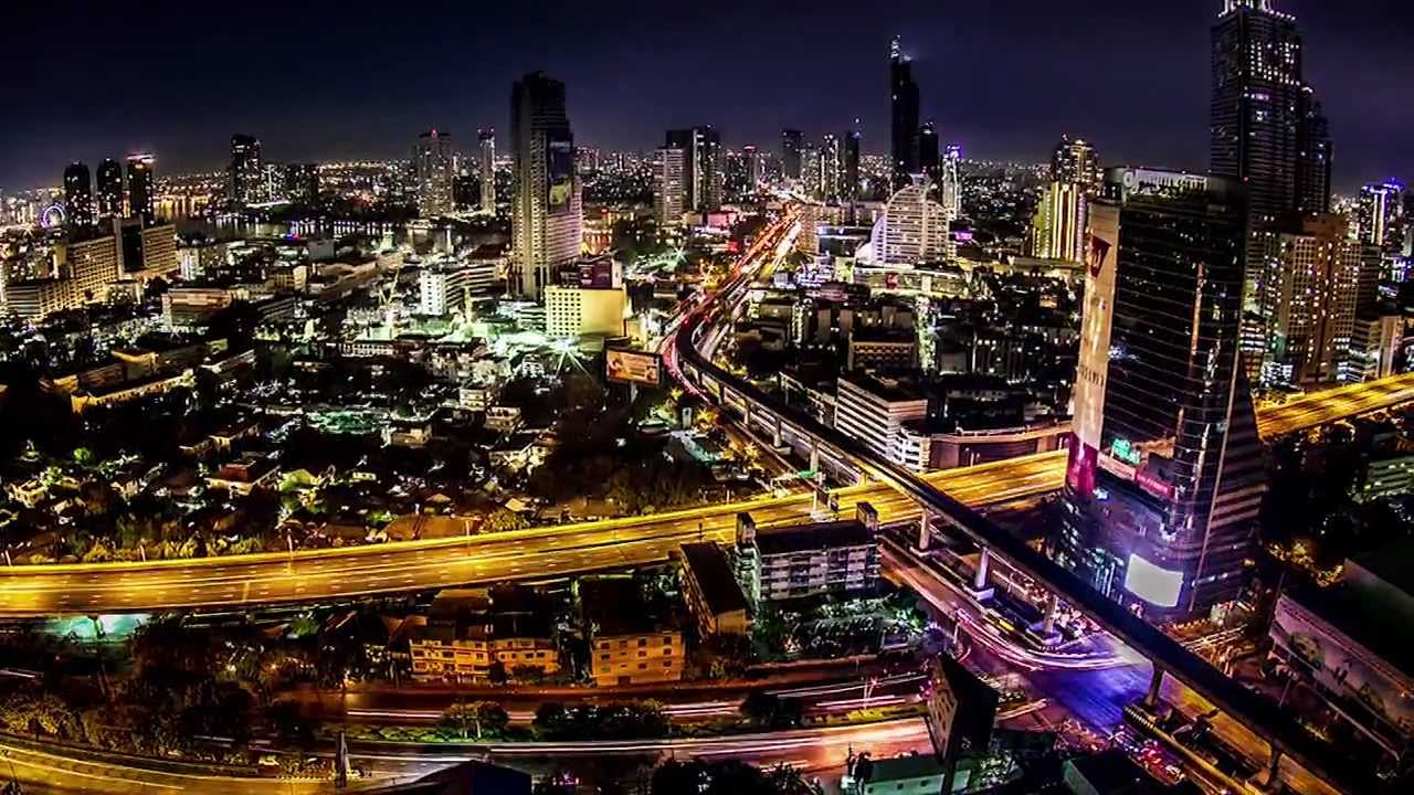 hdr time lapse - bangkok city of life  thesis