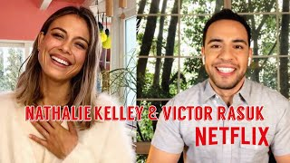 The Baker and the Beauty on Netflix - Nathalie Kelley & Victor Rasuk Interview
