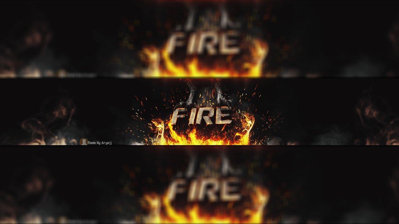 Minecraft Wallpaper 3d Herobrine Fire Youtube Banner Speed Art 3d Cinema 4d