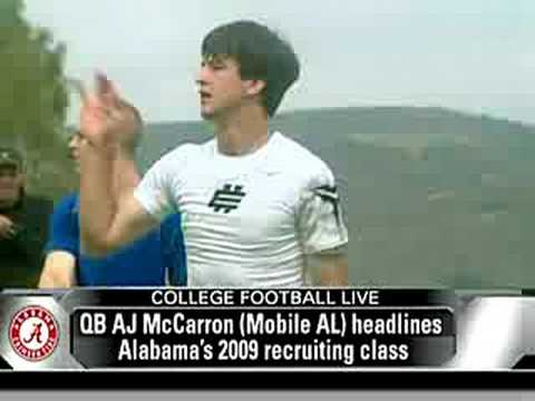 AJ McCarron Compared To Ken Dorsey