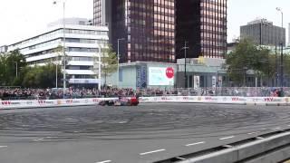 max verstappen F1 crash at city racing rotterdam 2014