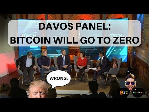 Davos: BTC To Zero | NASDAQ CEO: Bitcoin world currency | McAfee In Exile