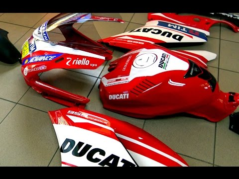 DUCATI PANIGALE 959 WRAPPING STEP FOUR: IS THIS ART OR NOT? PLEASE REPLY ( VIDEO 4K) - 동영상