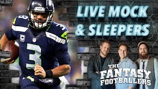Live Mock Draft, Sleepers, Fantasy News - The Fantasy Footballers