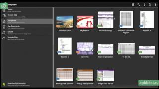 Обзор - OfficeSuite Pro 7 - для Андроид