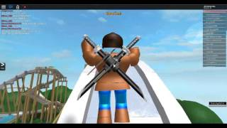 hello, my name is NOBODY plays - roblox waterpark