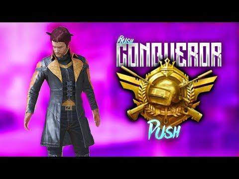 [HINDI] Hackers Against Conqueror Push PUBG MOBILE GAMEPLAY CHICKEN DINNER LET'S GOOOOOO !Sponsor