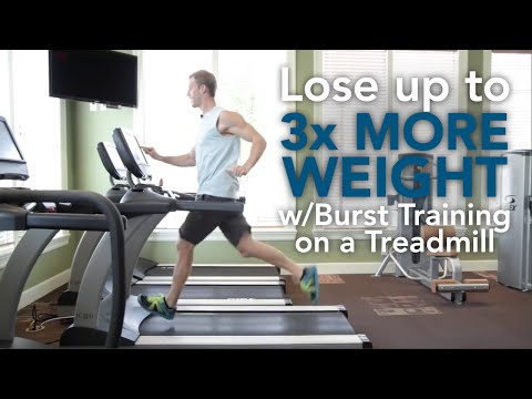 Lose Weight with Burst Training on a Treadmill