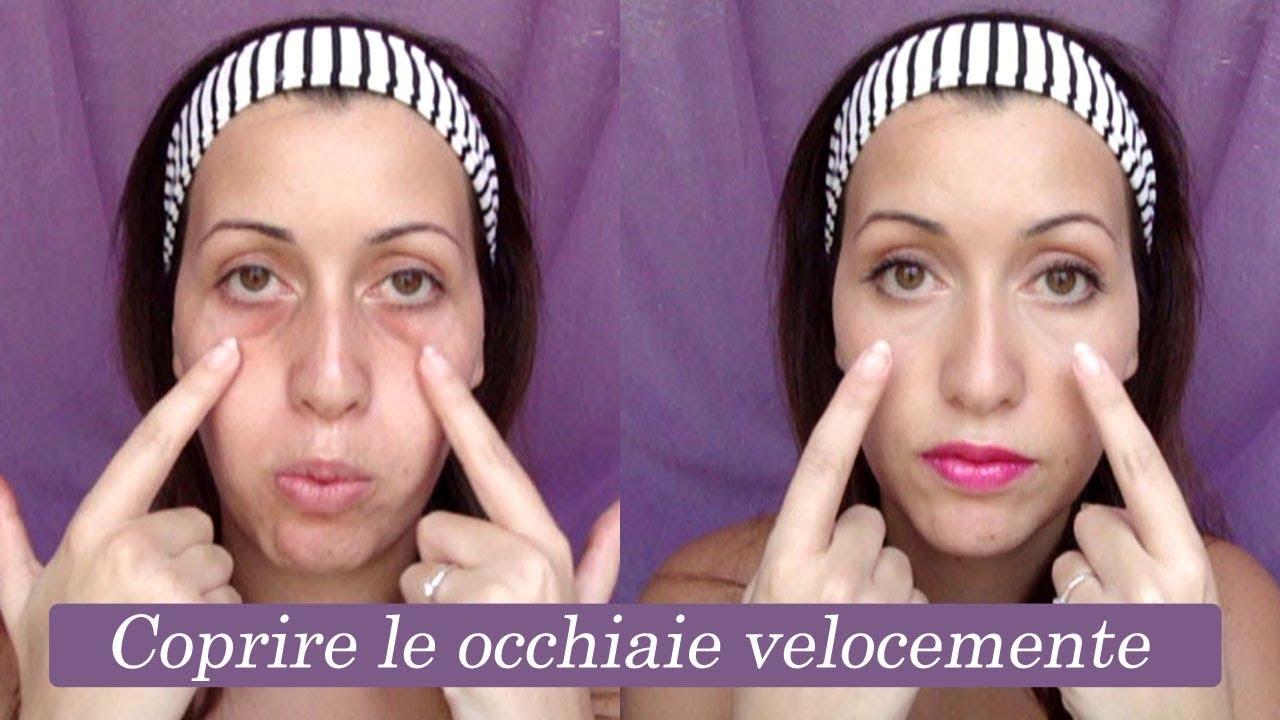Make Up Tutorial: coprire le occhiaie trucco correttivo