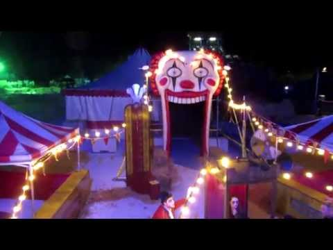 The Big Top Thorpe Park Fright Nights Walkthrough Pov