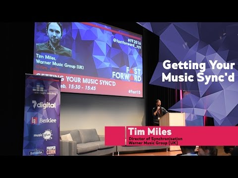 """""""Getting Your Music Sync'd"""" by Tim Miles   FastForward 2016"""