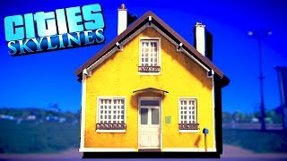 Building Only One House in Cities Skylines!