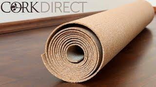 Cork Underlayment - Sound Reduction Cork Underlayment Sheets